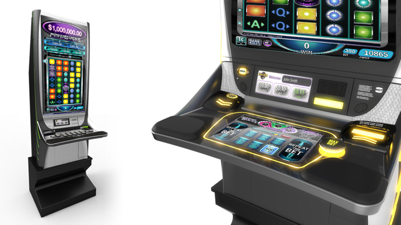 IGT CrystalCore with dynamic player panel